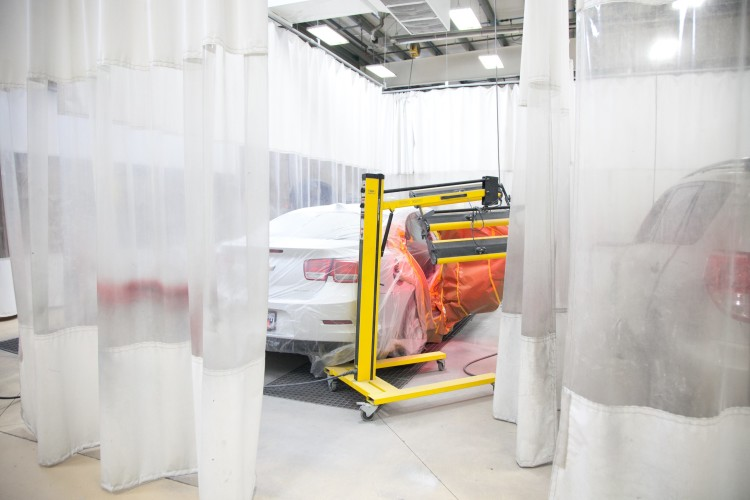 Martins Collision Paint Booth